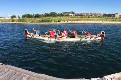 War Canoe Tug of War